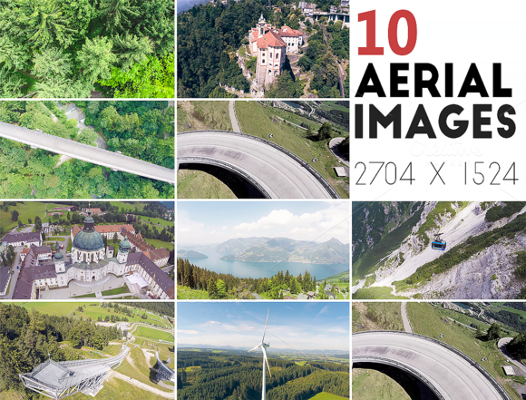 10 Aerial Images