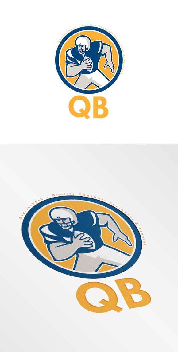 QB Quality Football Equipment Logo
