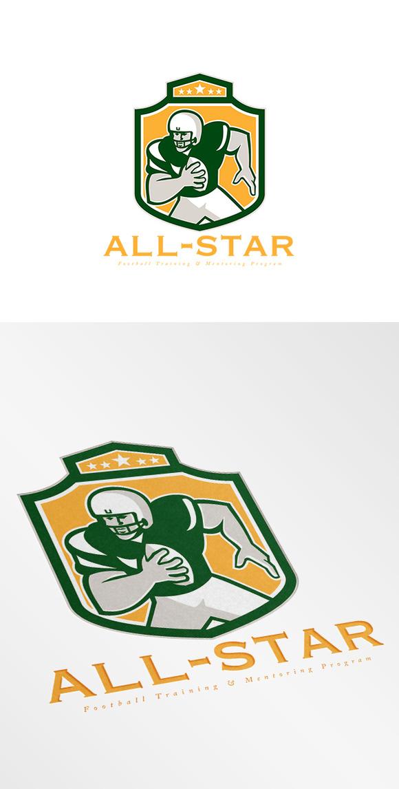 All-Star Football Training Logo