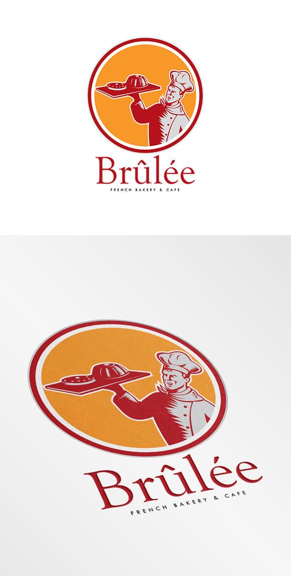 Brulee French Bakery Logo