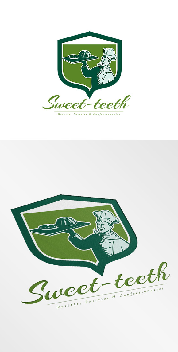 Sweet Tooth Desserts Logo