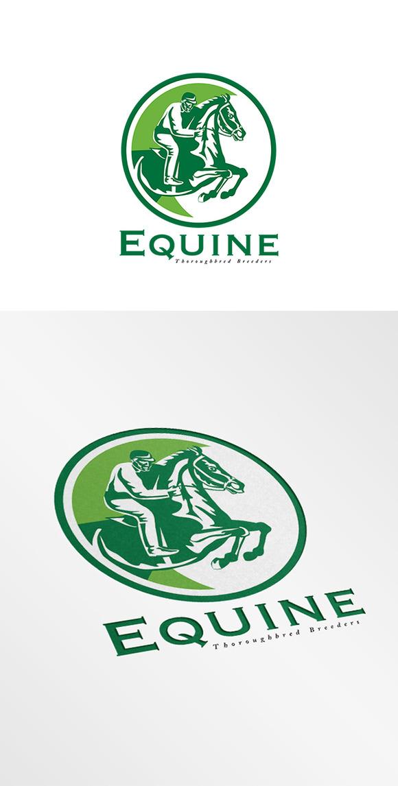 Equine Thoroughbreds Logo