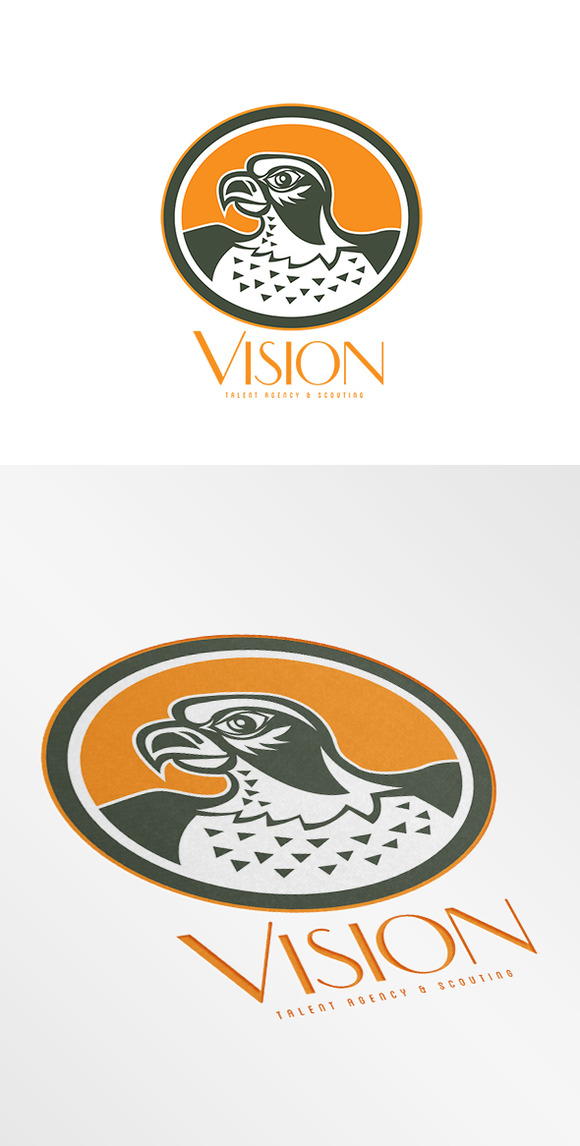 Vision Talent Agency Logo