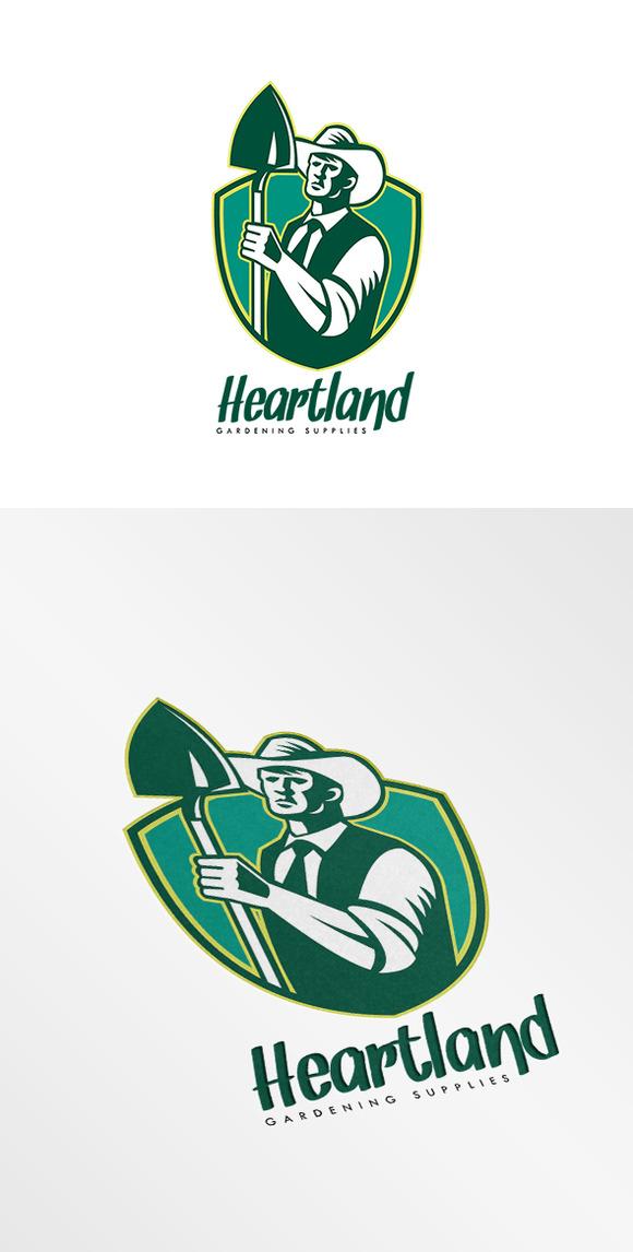 Heartland Gardening Equipments Logo