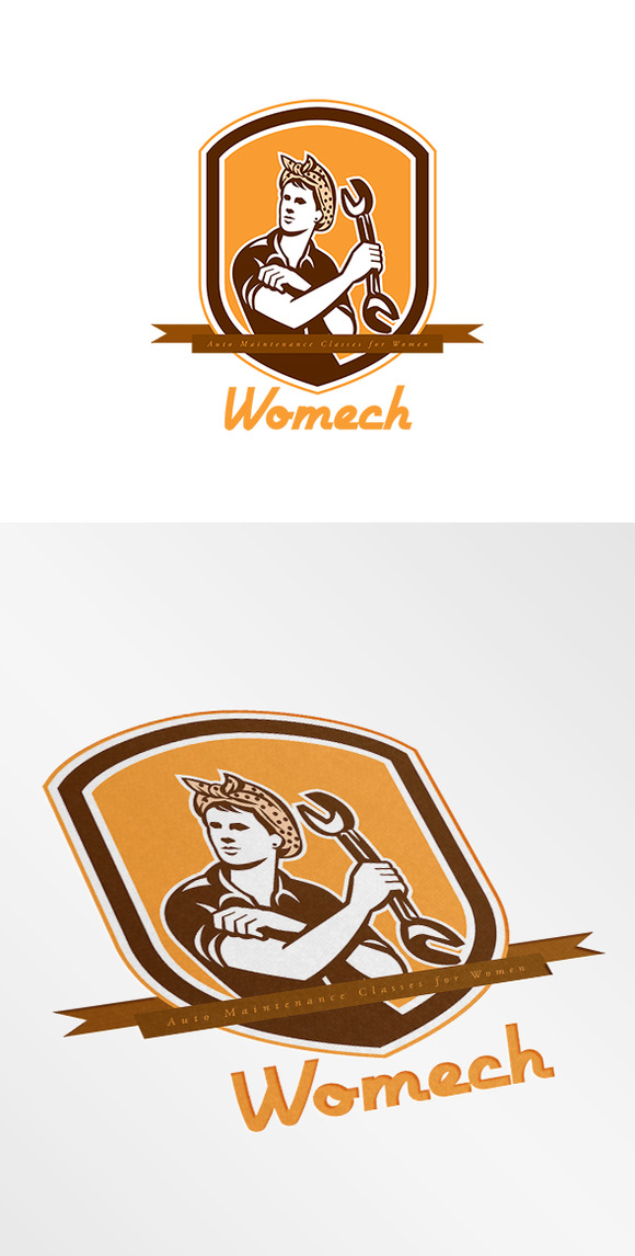 Womech Auto Maintenance Logo