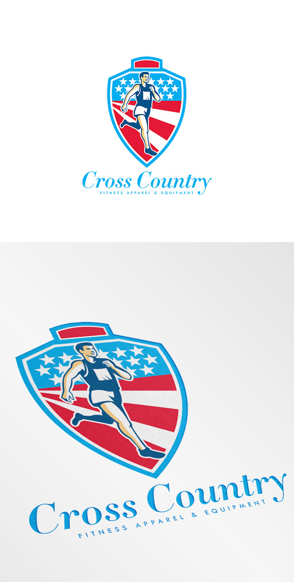 Cross Country Fitness Apparels Logo