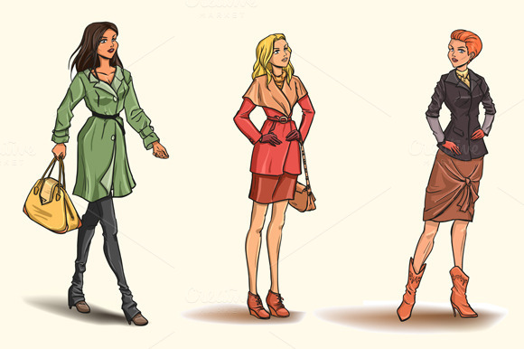 6 Woman In Autumn Clothes