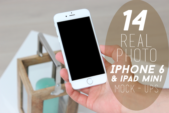 14 Real Photo IPhone 6 Mock-ups
