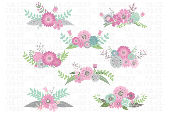 Wedding Floral Clipart