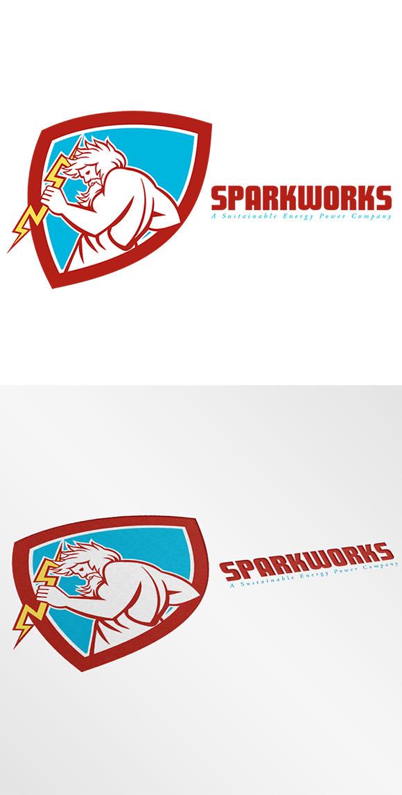 Sparkworks Power Company Logo