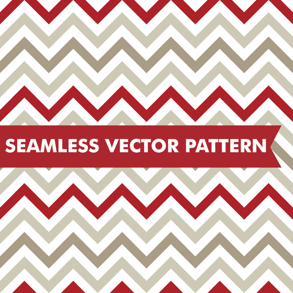 Seamless Chevron Vector Pattern