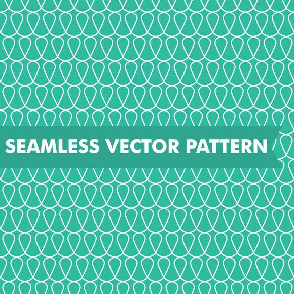 Doodle Loops Seamless Vector Pattern