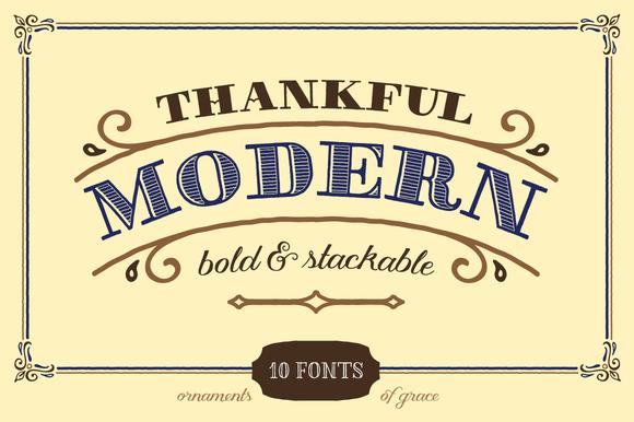 Thankful Modern