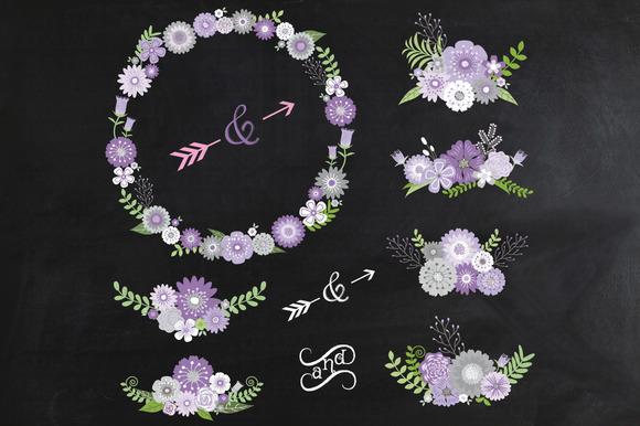 Chalkboard Wedding Clipart