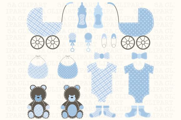 Baby Shower Boy Clipart