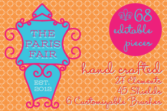 The Paris Fair Vector Elements