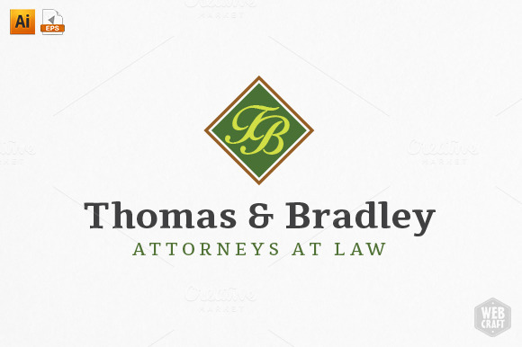Real Estate Attorney Logo Template