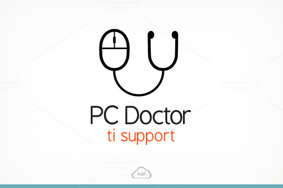 PC Doctor Logo Template