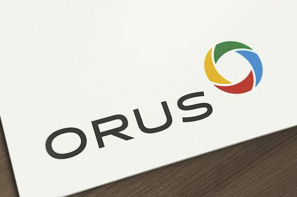 Orus Abstract Letter O Logo
