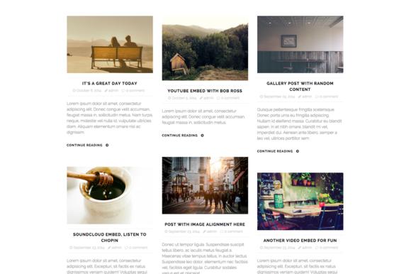 Boksy WordPress Theme For Bloggers