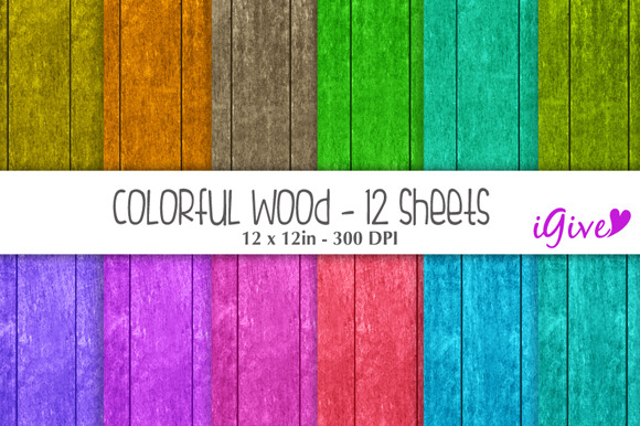 Bright Wood Background