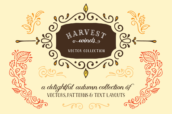 Harvest Winds Vector Collection