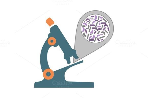 Microscope Bacteria