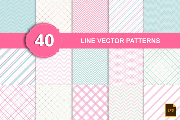 Line Vector Patterns