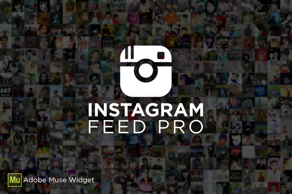 Instagram Feed PRO Adobe Muse