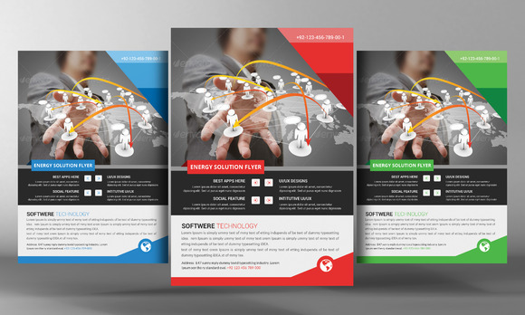 Software Flyer Template