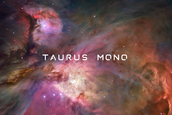Taurus Mono Monospace Stencil