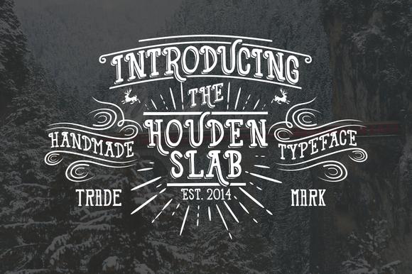 Houden HDN Typeface