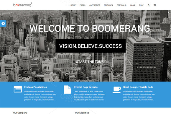 Boomerang 2 MultiPurpose Theme