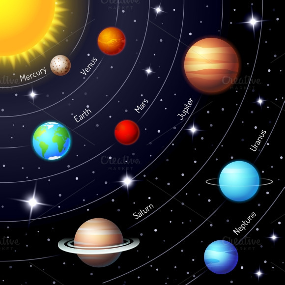 creative solar system pics about space