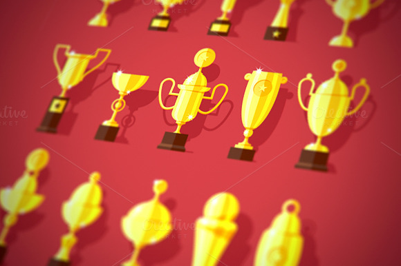 Award Cups Set