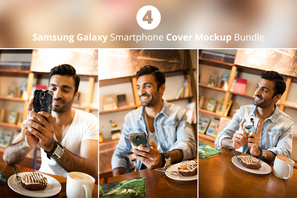 Samsung Cover Mockup Bundle