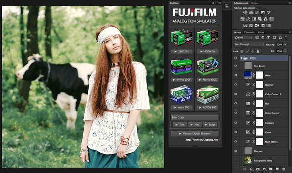 Fujifilm Simulator