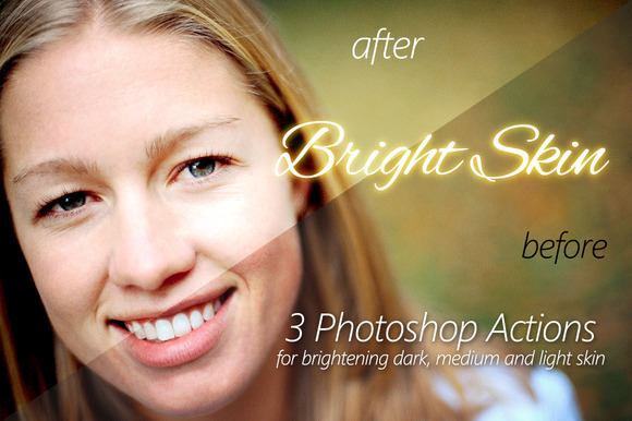 Bright Skin 3 Photoshop Actions