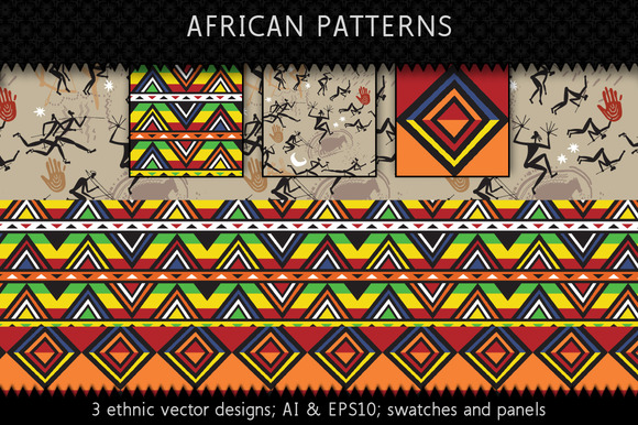 African Ethnic Textile Patterns