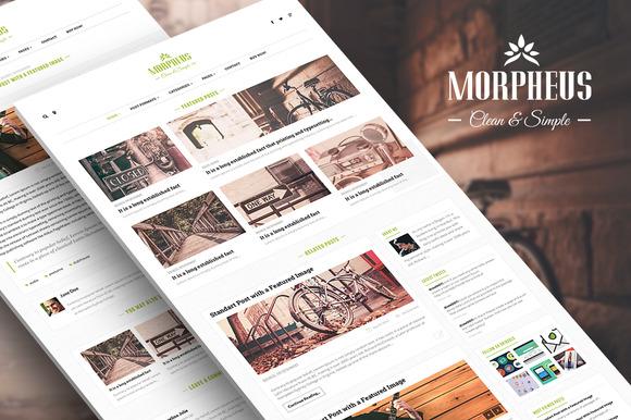 Morpheus Clean Personal WordPres