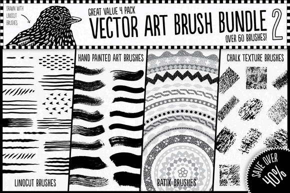 Vector Art Brush Bundle 2