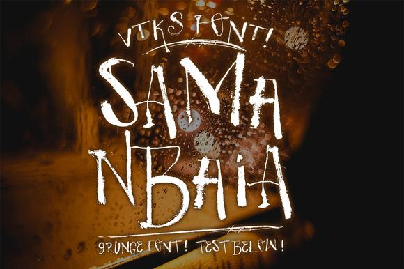 Samanbaia VTKS Font