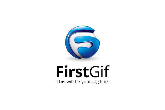 FirstGif Logo Template