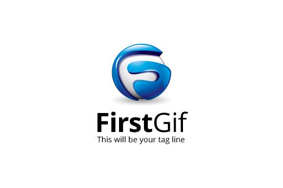 FirstGif Logo Template