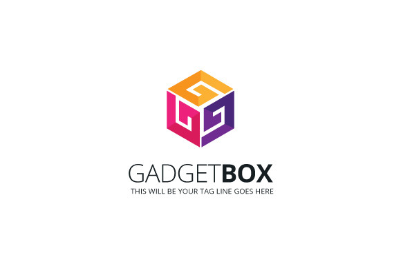 Gadget Box Logo Template