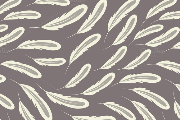 Dreamy Feathers Pattern