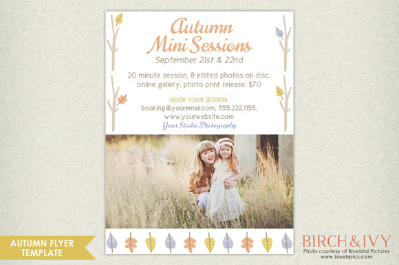 Autumn Marketing Board Flyer