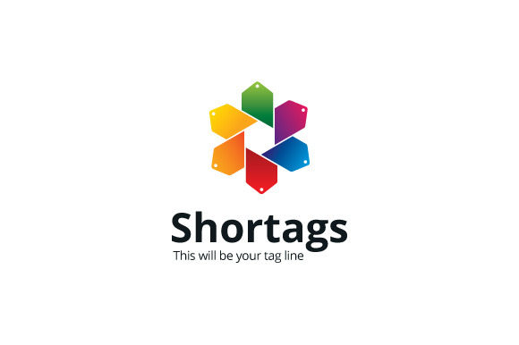 Shortags Logo Template
