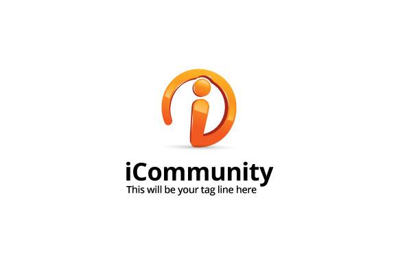 ICommunity Logo Template