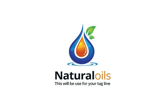 Naturaloils Logo Template